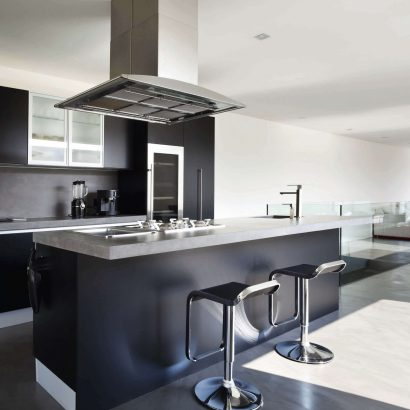 Marble and granite kitchens