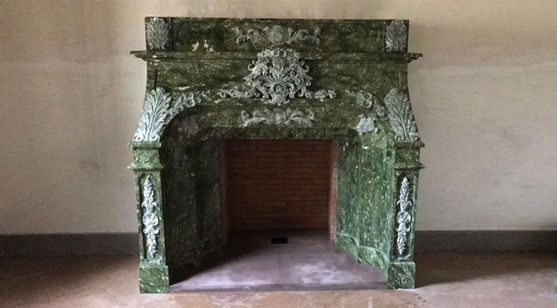 chimeneas de marmol
