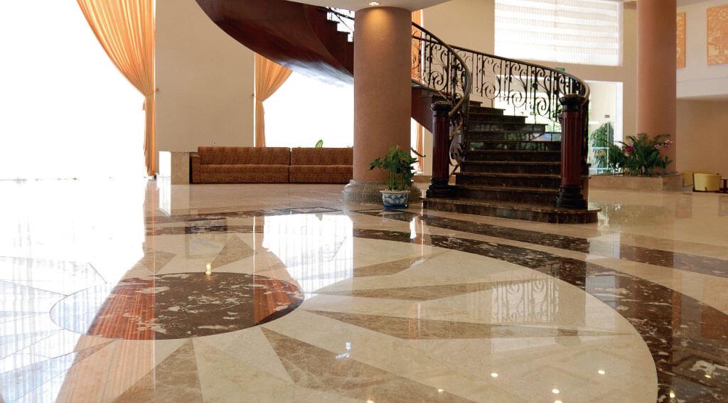 suelos de mármol modernos