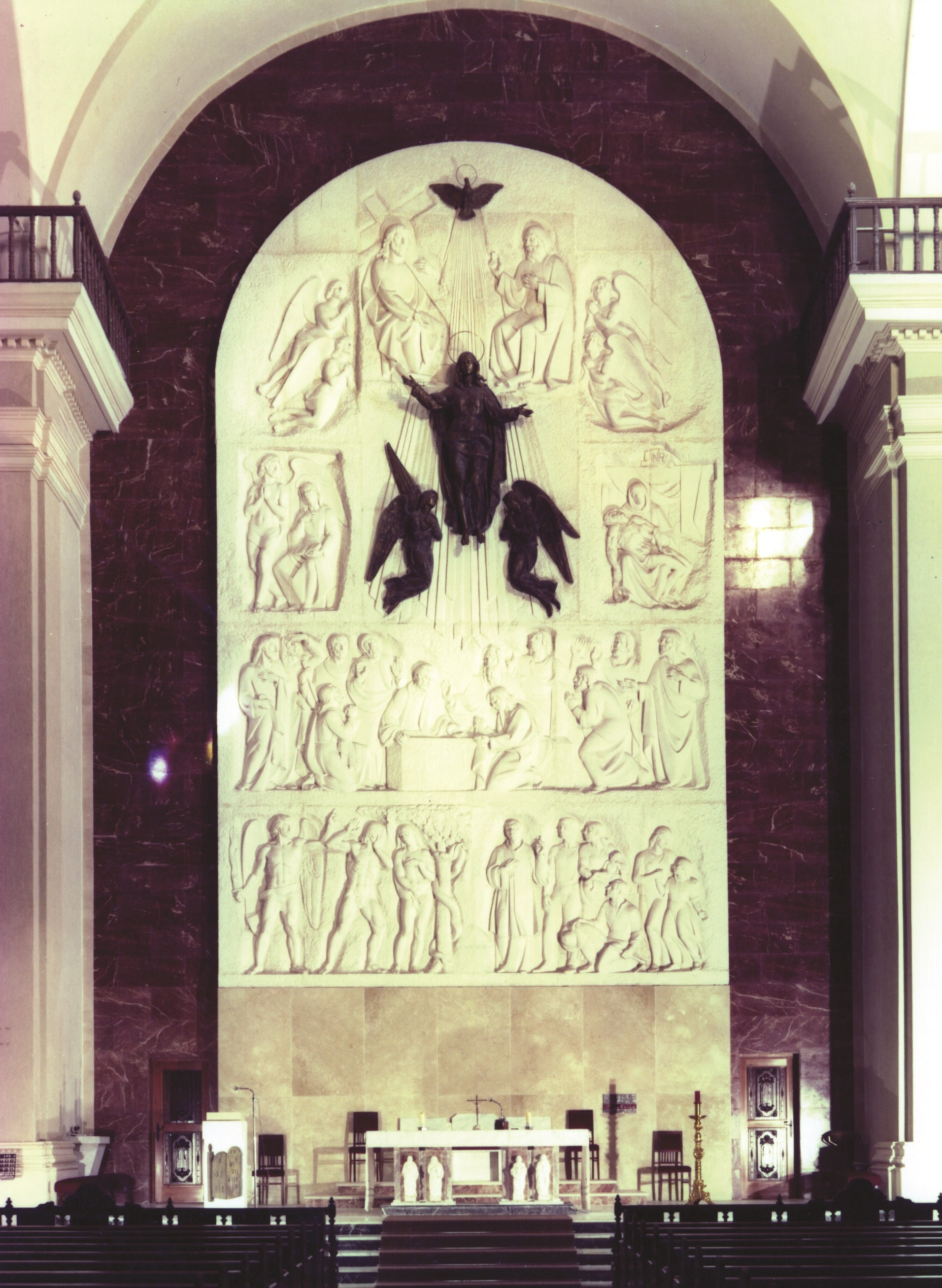 Reablo altar mayor Xixona